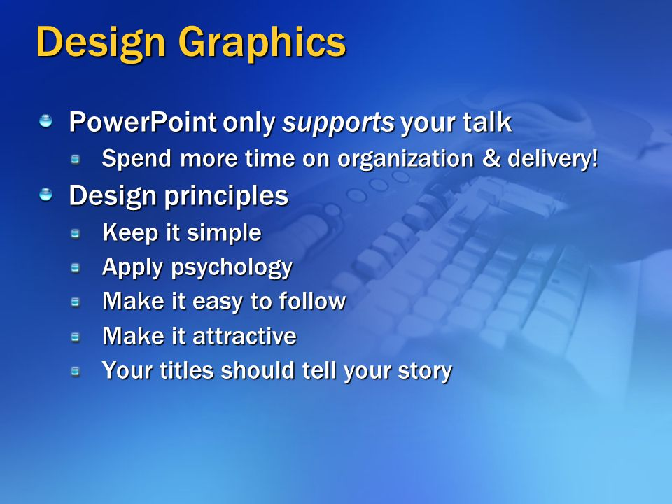 Learn Speaking Skills Next Topic: Develop Key Point Organize Story Design Graphics Practice Talk Q&A Delivery
