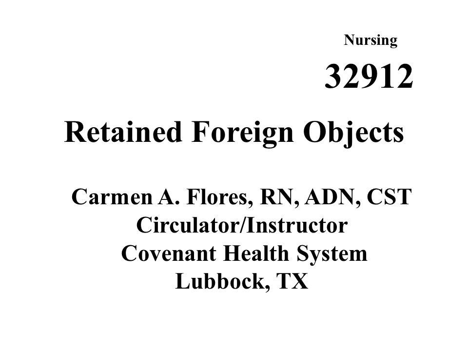 Nursing Objectives 1.
