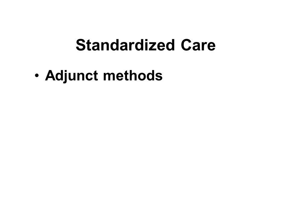Standardized Care Adjunct methods