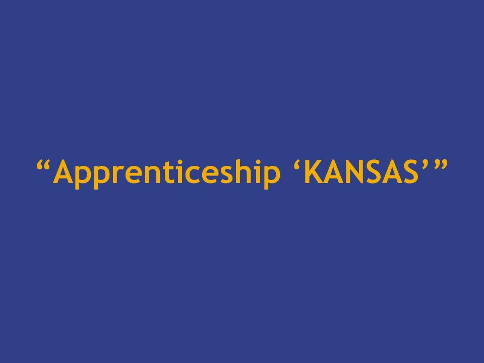 Apprenticeship 'KANSAS'