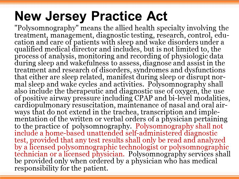 Exemption Language Thirty states contain general exemption language in their Respiratory Care Acts.
