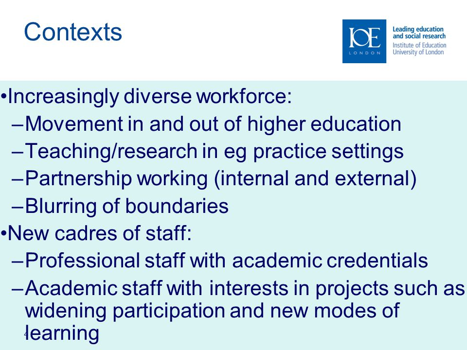 5 The Emergence of 'Third Space' The Student Experience Project eg Life and welfare Widening participation Employability and careers The Partnership Project eg Regional/community development Business/industry liaison Knowledge exchange The Professional Development Project eg A cademic practice Professional practice Project management Leadership/management development Examples of Institutional Projects in Third Space Professional Staff Academic Staff Generalist functions (eg registry, department/ school management) Specialist functions (eg finance, human resources) 'Niche' functions (eg quality, research management Pastoral support Teaching/ curriculum development for non-traditional students Links with local education providers Mixed teams The Higher Education Professional 'Perimeter' roles eg 'Perimeter' roles eg Teaching Research Outreach/study skills Access/equity/ disability Community/ regional partnership 'Third leg' eg public service, enterprise Adapted from Whitchurch (2008)