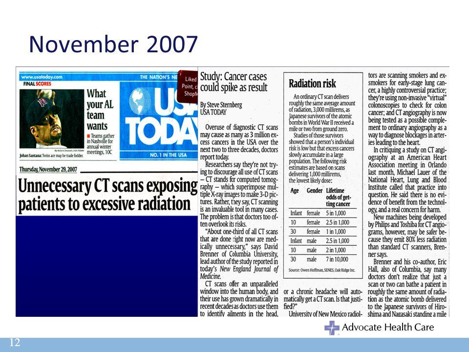 November 2007 12