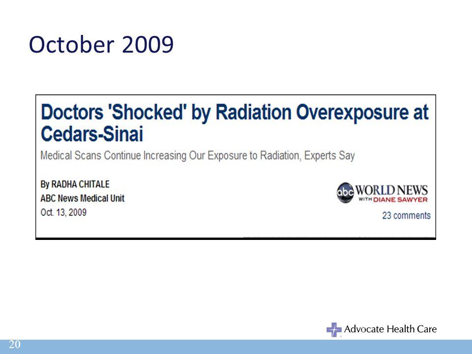 October 2009 20