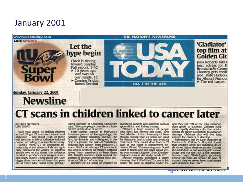 January 2001 9