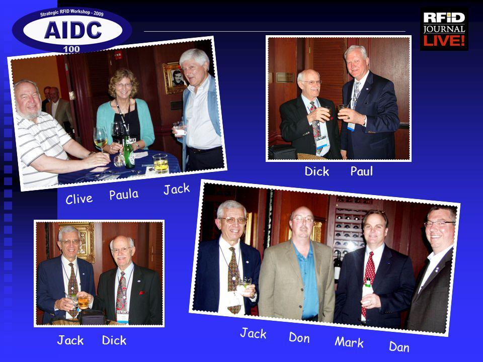 Clive Paula Jack Dick Paul Jack Dick Jack Don Mark Dan