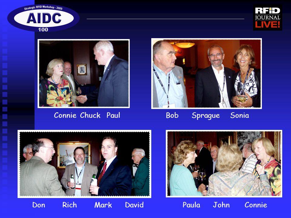 Connie Chuck Paul Bob Sprague Sonia Don Rich Mark David Paula John Connie