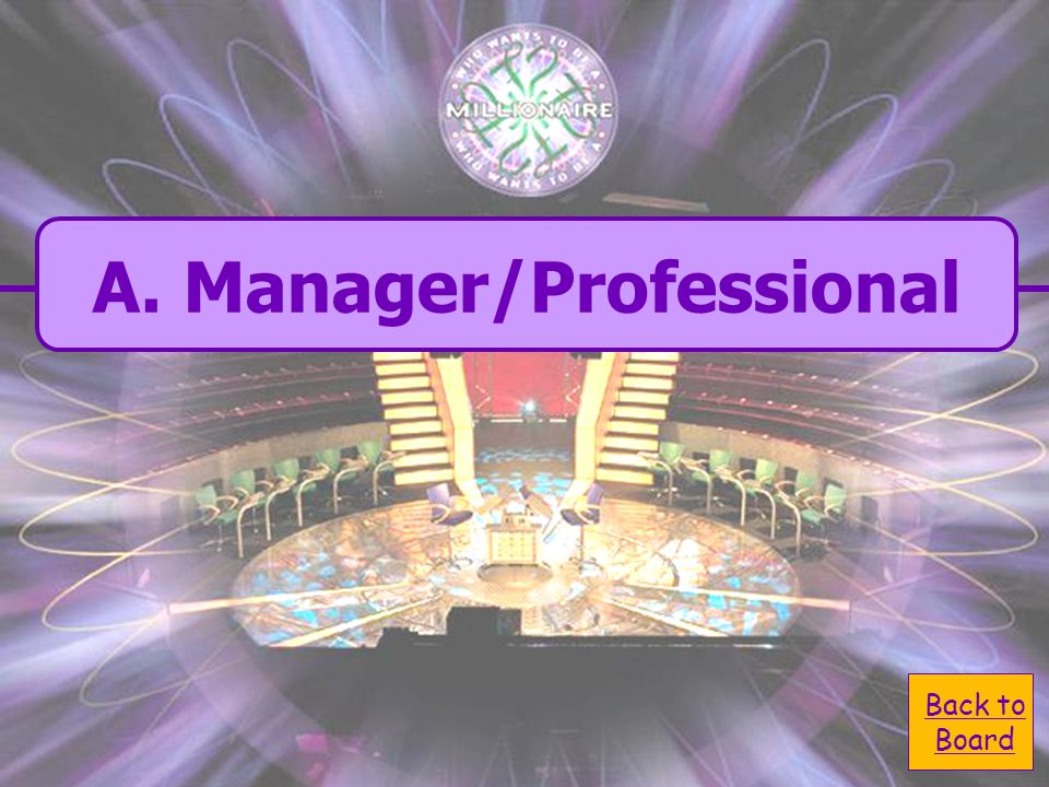  A. Manager/ A. Manager/ Professional 8,000 Question: Under which job classification is a Hydrologist?  C. Entry Level and C. Entry Level and Licens
