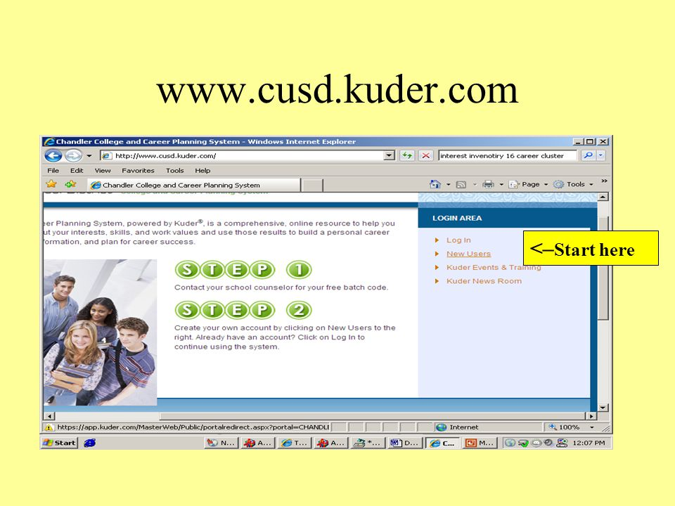 What do you like. Complete a Kuder ® Career Search with Person Match and find out.