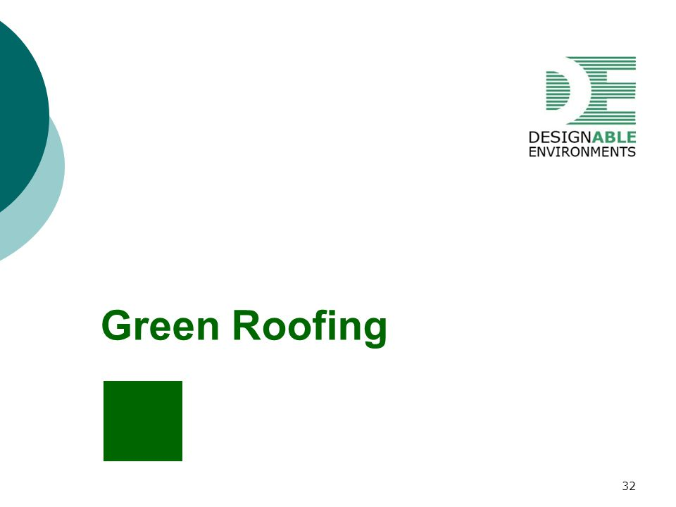 Green Roofing 32