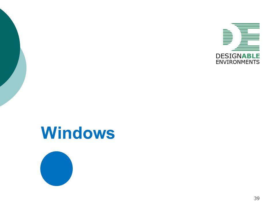 Windows 39