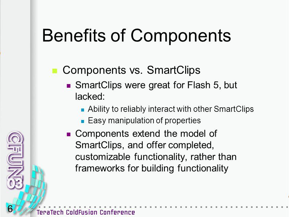 6 Benefits of Components Components vs.