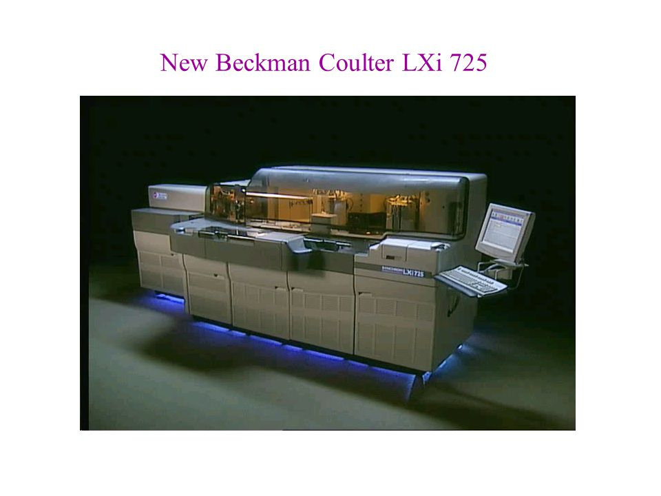 New Beckman Coulter LXi 725