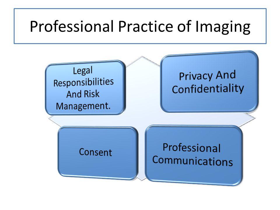 Professional Practice of Imaging