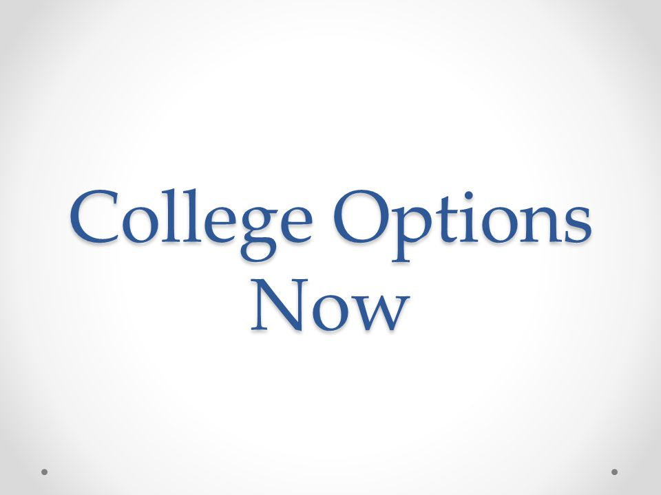 College Options Now