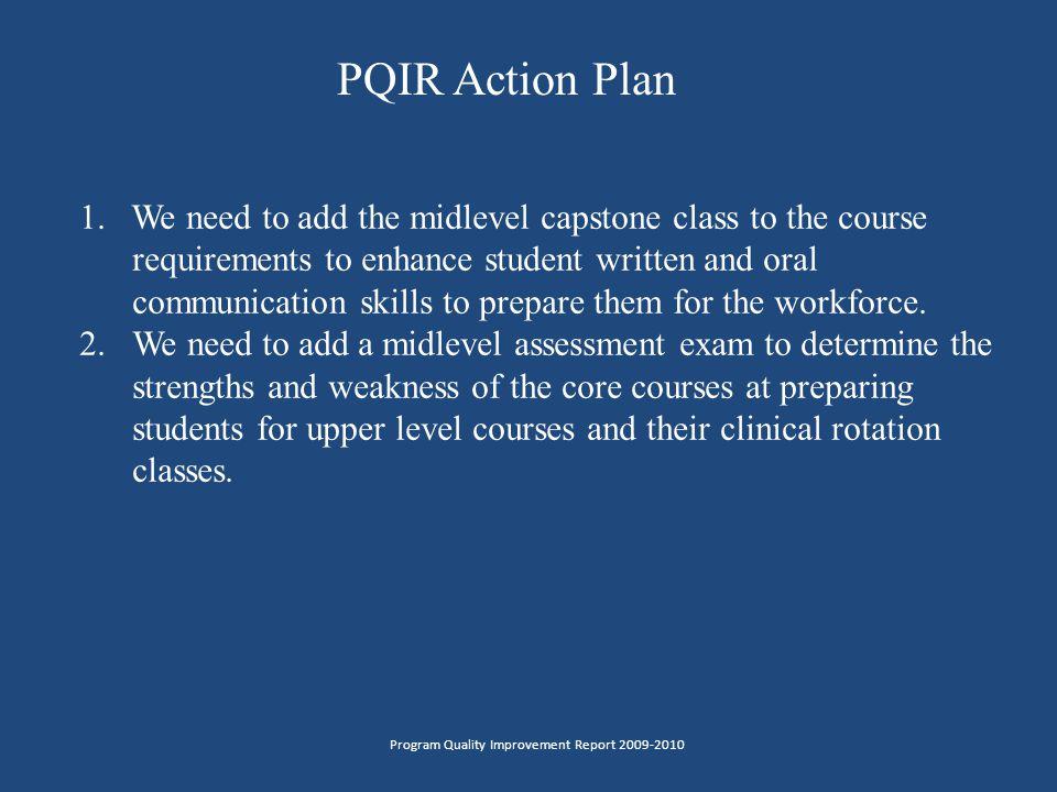 PQIR Action Plan 1.