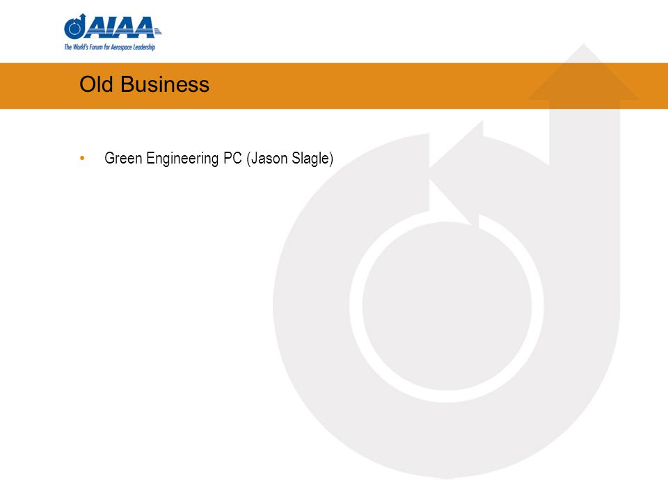 Old Business Green Engineering PC (Jason Slagle)