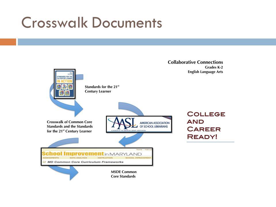 Crosswalk Documents