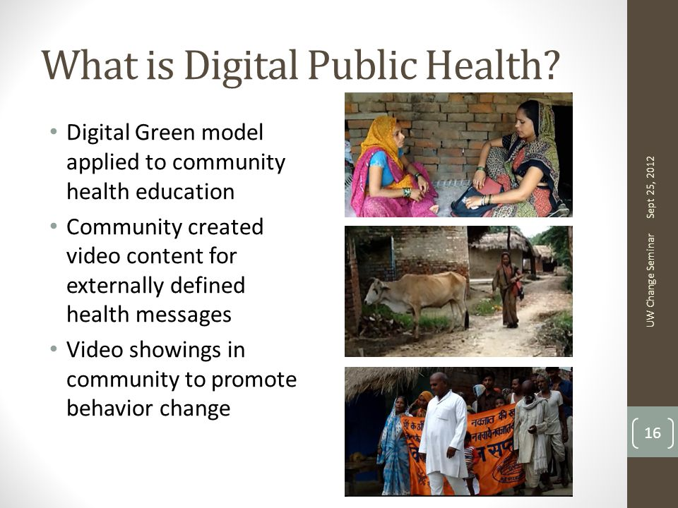 What is Digital Public Health.