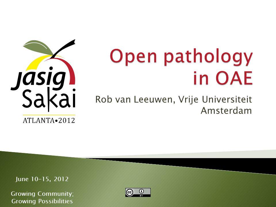  Content of slide 2012 Jasig Sakai Conference32