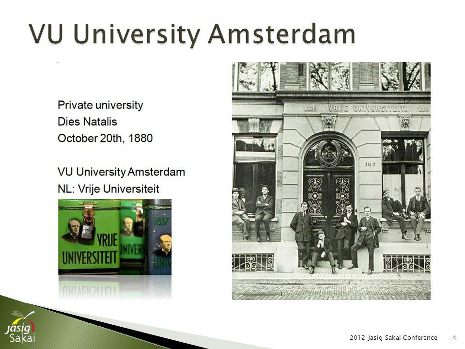  Content of slide 2012 Jasig Sakai Conference35