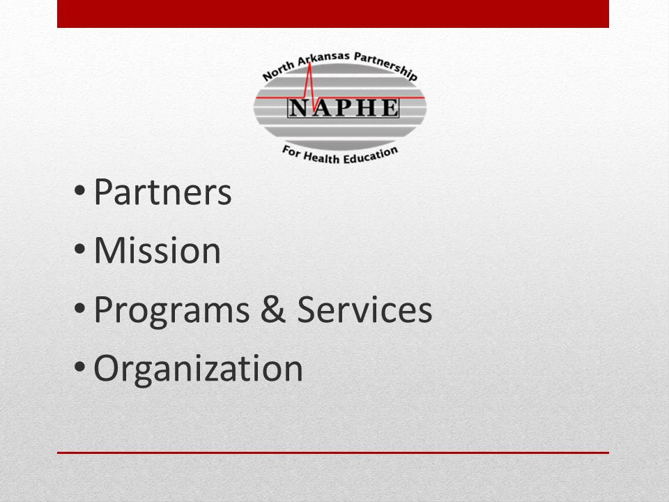 Partners Mission Programs & Services Organization