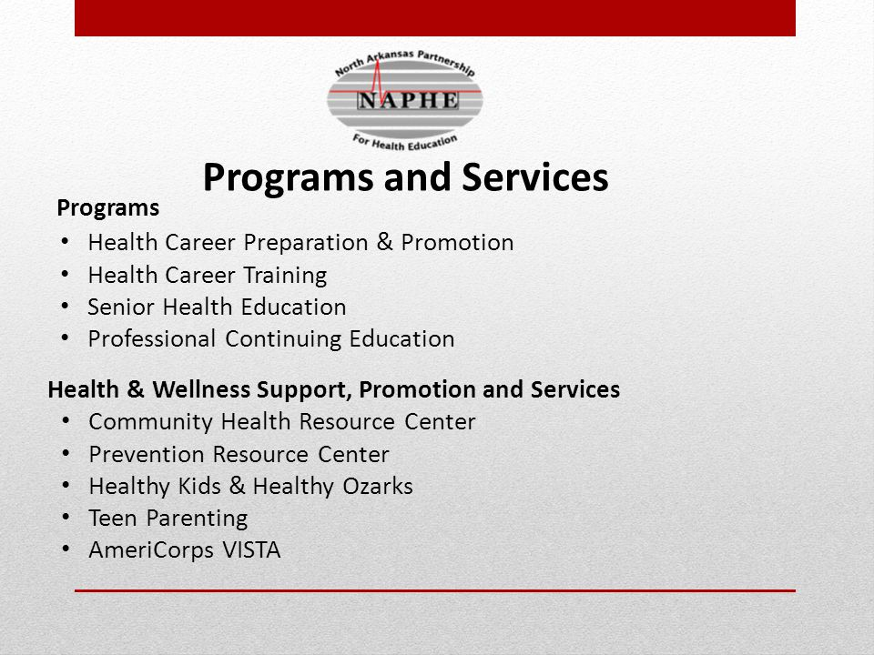 Health Career Preparation & Promotion Health and Science Camps Med Pro-Ed Health Career Fairs