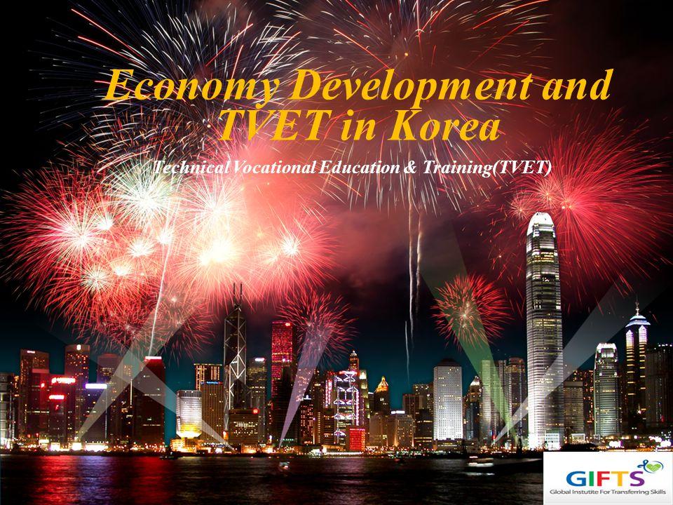 LOGO Technical Vocational Education & Training(TVET) Economy Development and TVET in Korea