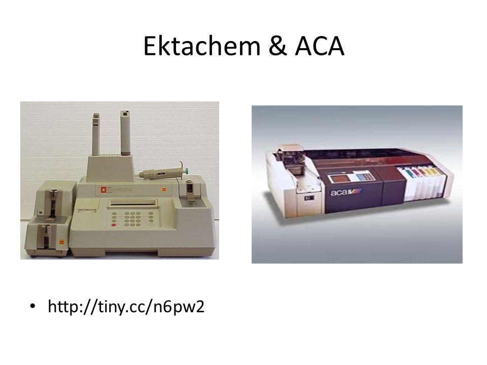 Ektachem & ACA http://tiny.cc/n6pw2