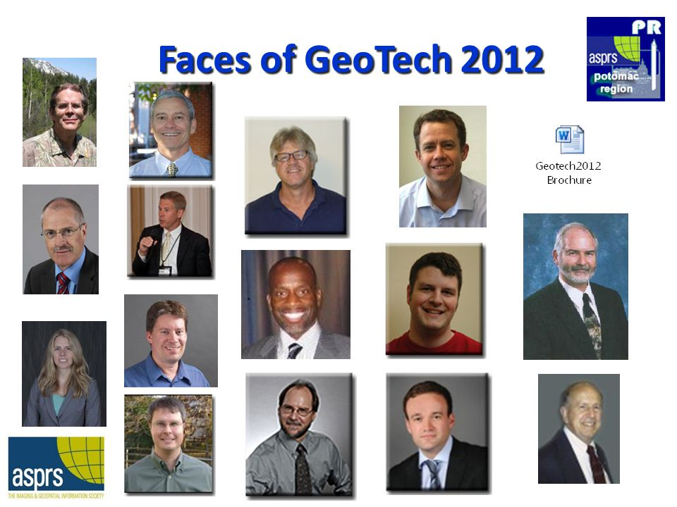 Faces of GeoTech 2012