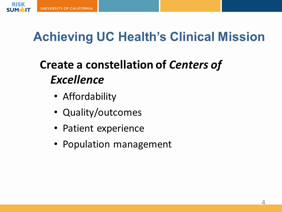 Collaborative: UC Cardiac Surgery Consortium A performance improvement demonstration project that addresses: Clinical Innovation ◊ System optimization: Spread innovation and create collaboration Quality Improvement ◊ More effective/ efficient practices: Reduce variability in processes, outcomes, costs 25