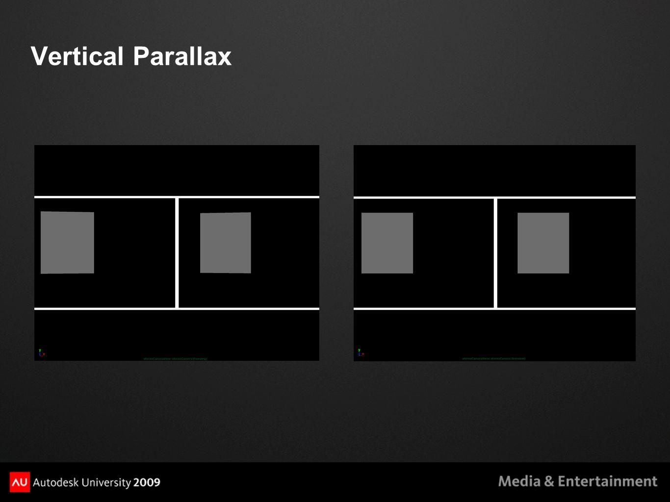 Vertical Parallax