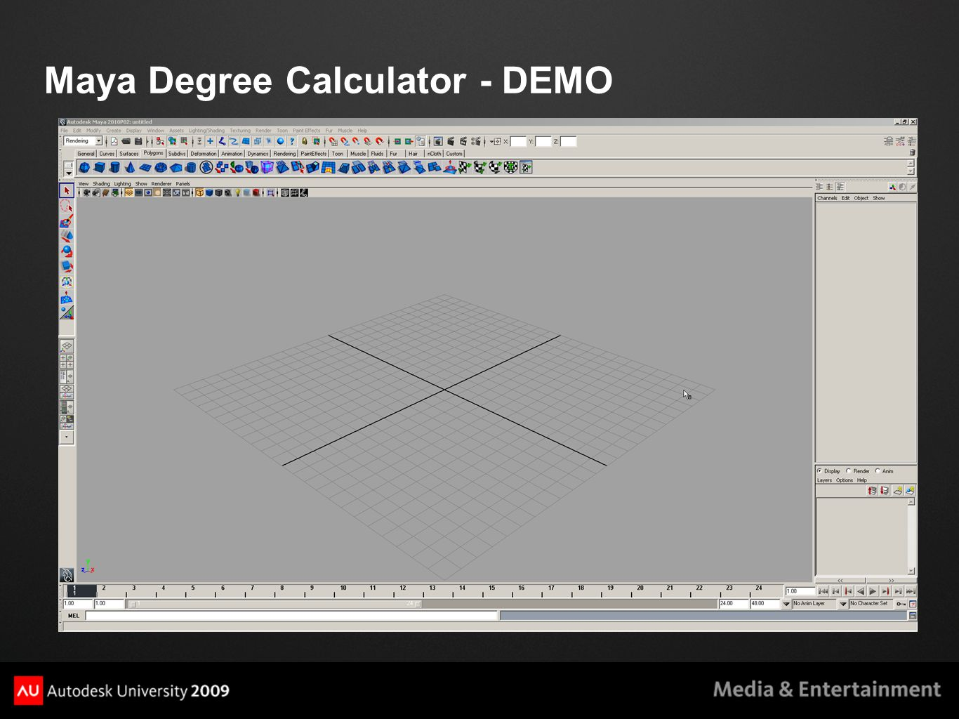 Maya Degree Calculator - DEMO