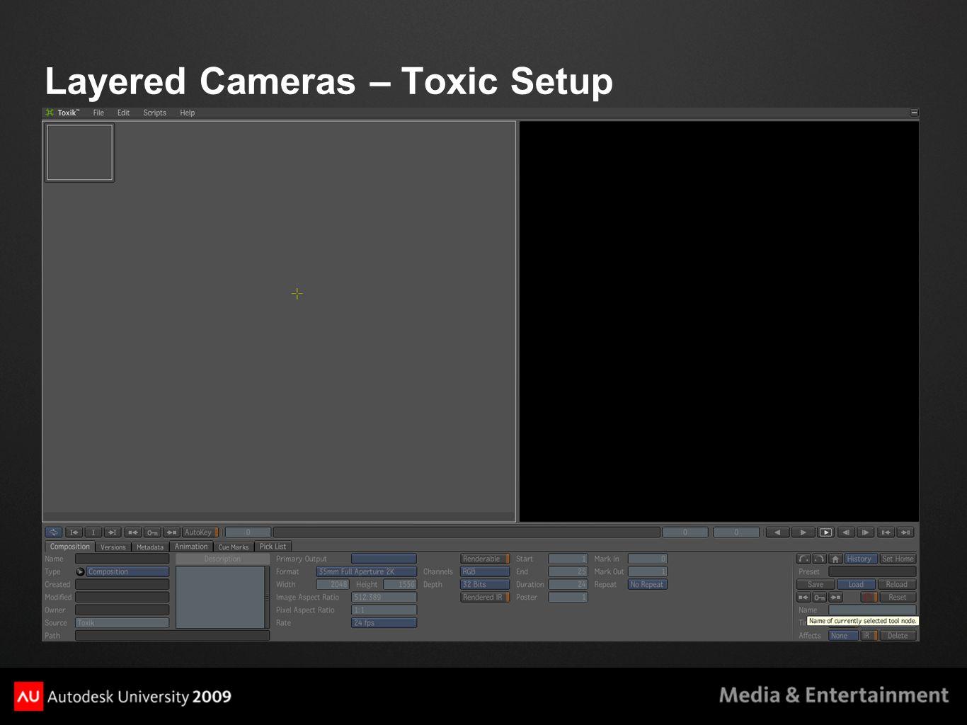 Layered Cameras – Toxic Setup