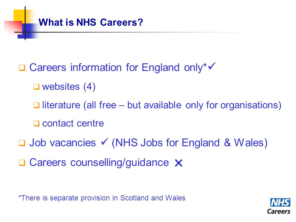 What is NHS Careers.