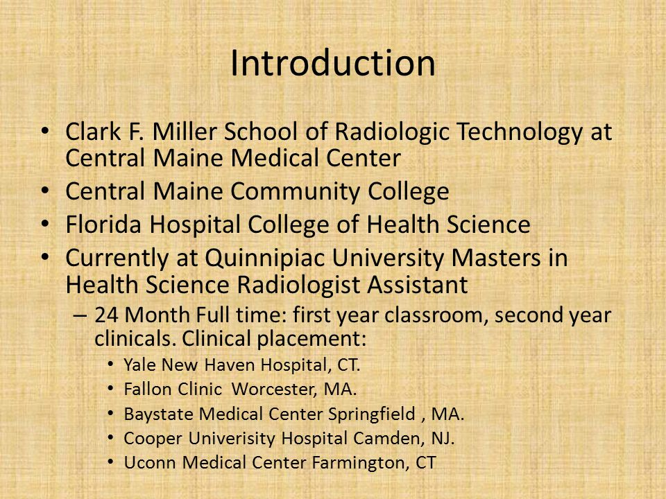 Introduction Clark F.