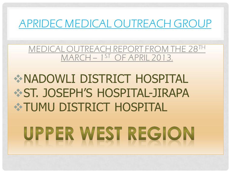 APRIDEC MEDICAL OUTREACH GROUP