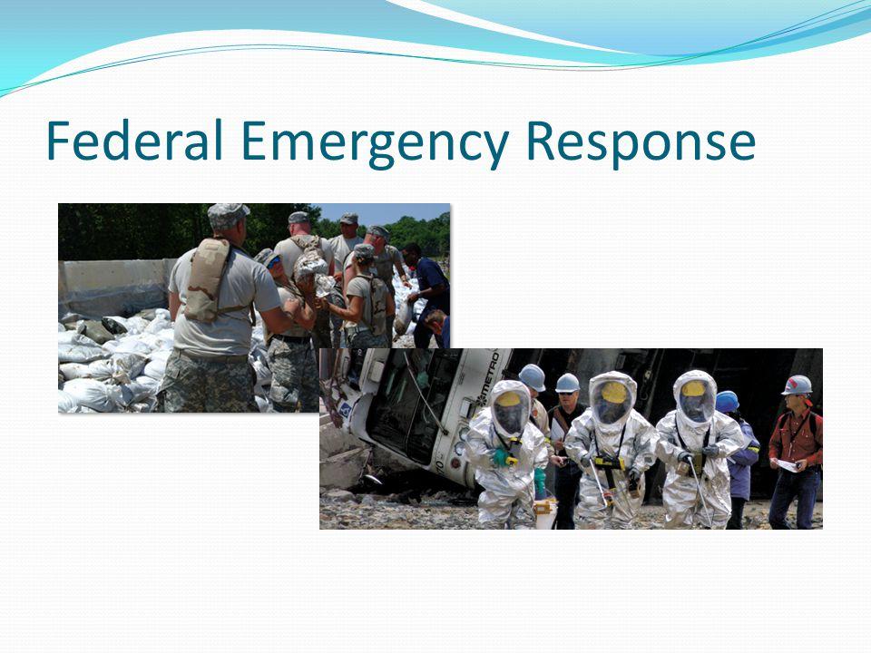 Federal Emergency Response
