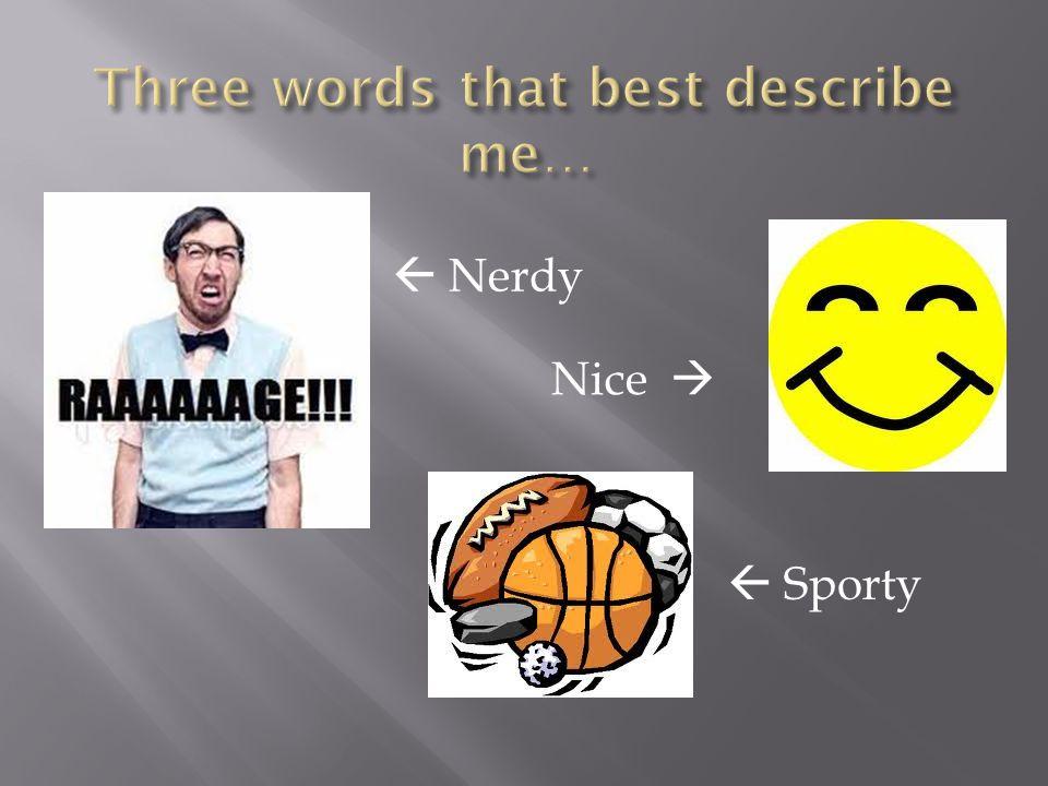  Nerdy Nice   Sporty