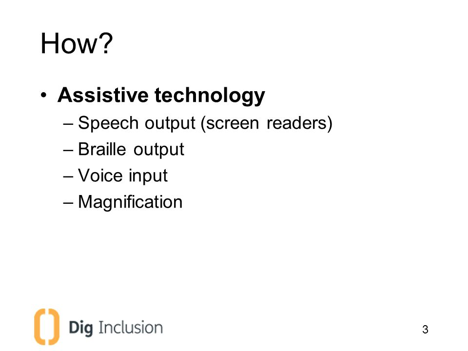 Demo: VoiceOver on iOS 4