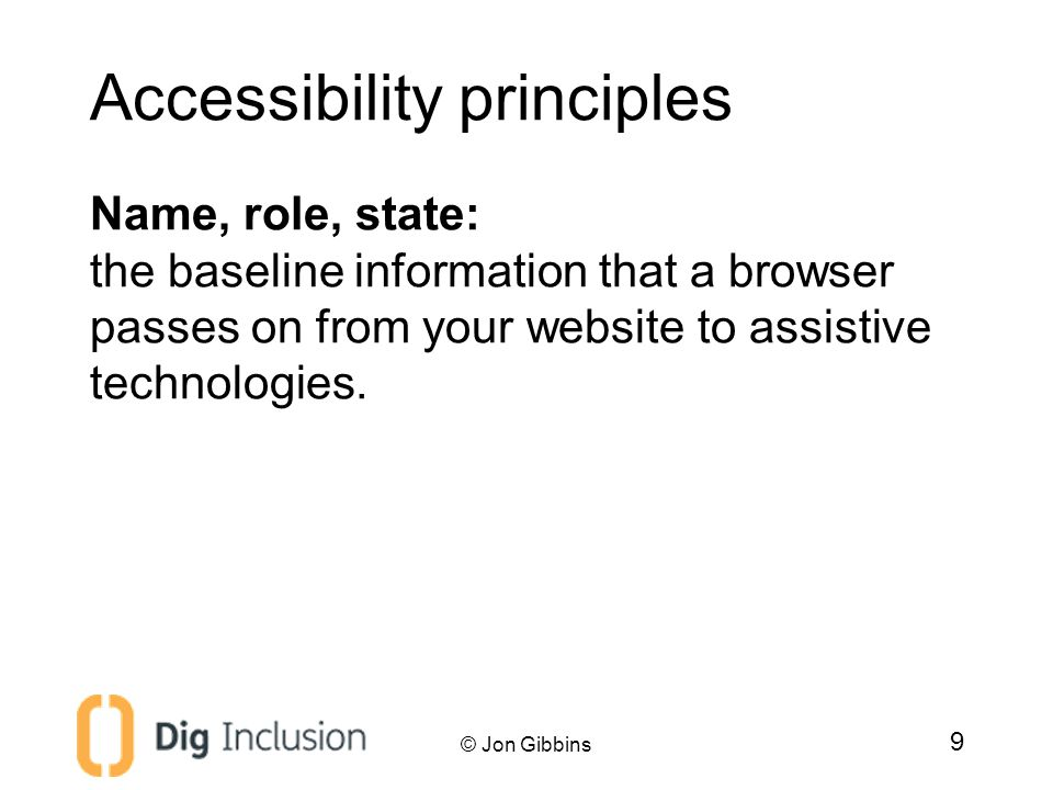 Accessibility theory Accessibility API fundamentals We know what assistive technology is, but how does it work.