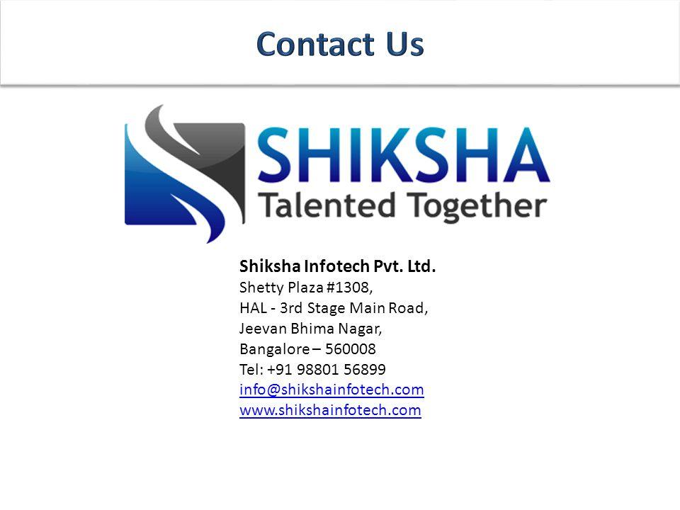 Shiksha Infotech Pvt. Ltd.