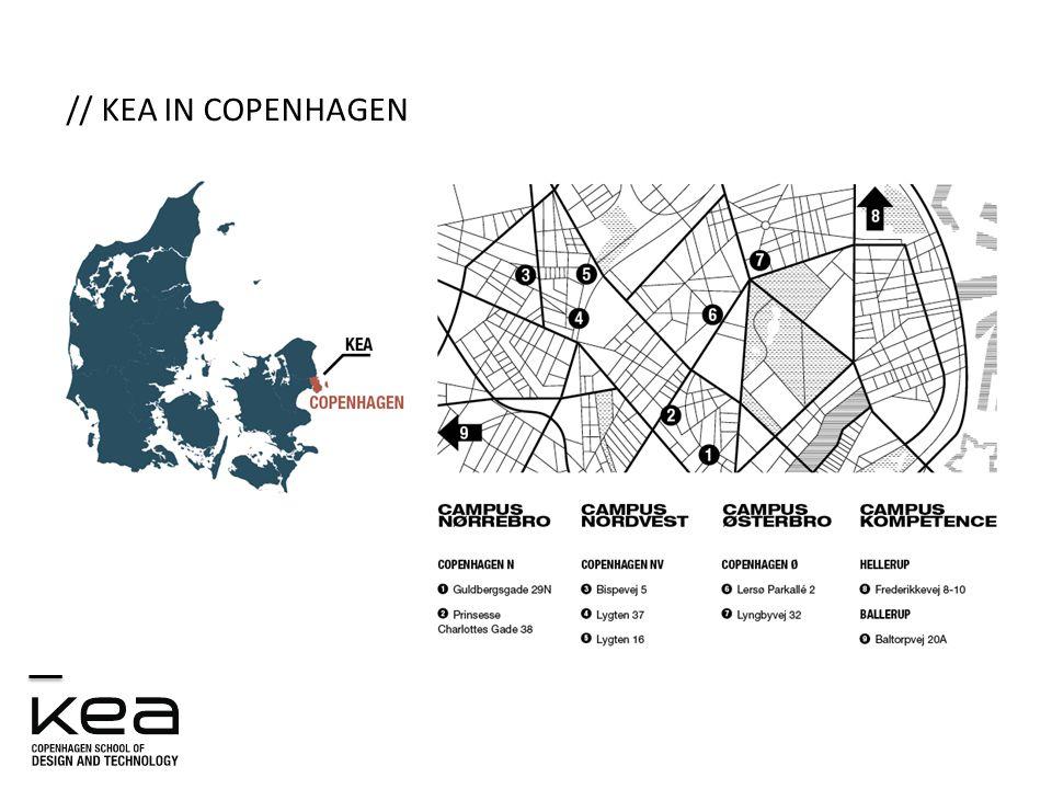 // KEA IN COPENHAGEN