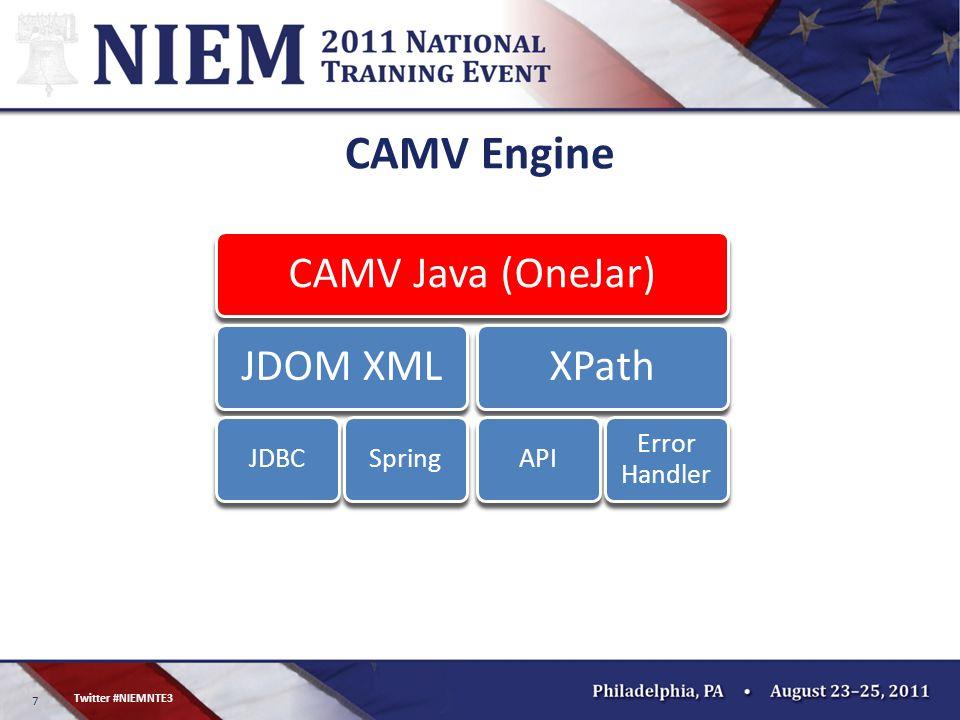 7 Twitter #NIEMNTE3 CAMV Engine