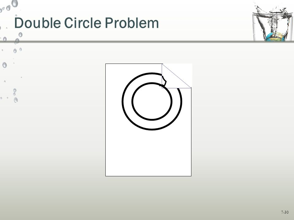7-30 Double Circle Problem