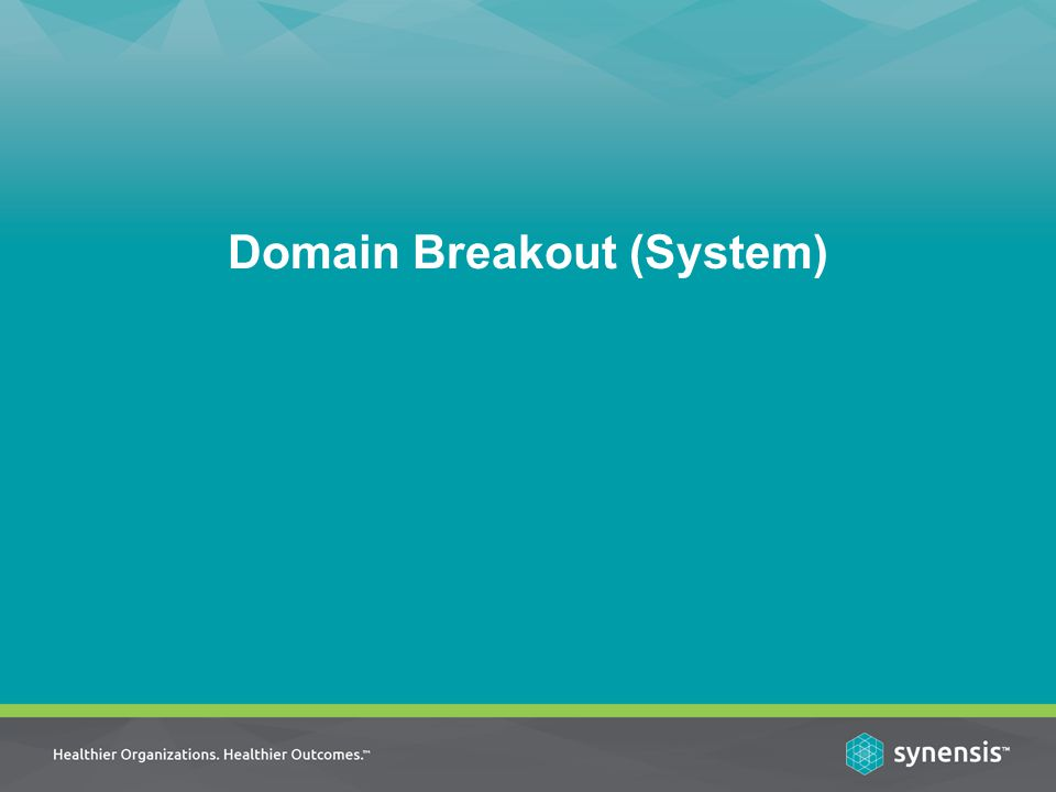Domain Breakout (System)