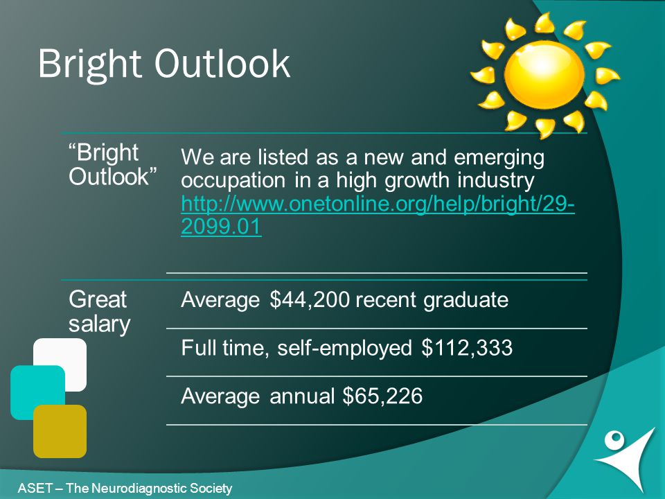 Bright Outlook ASET – The Neurodiagnostic Society