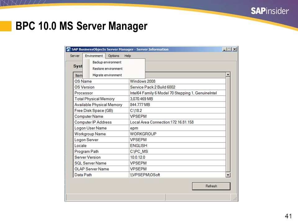 41 BPC 10.0 MS Server Manager