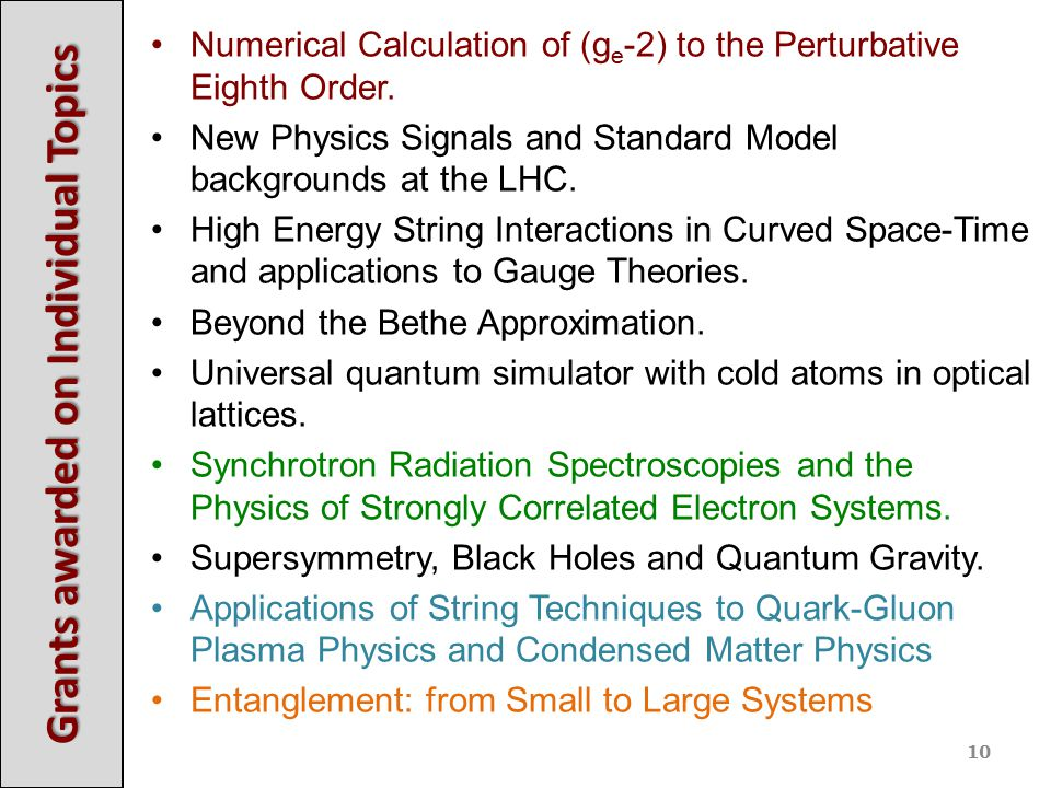 Numerical Calculation of (g e -2) to the Perturbative Eighth Order. New Physics Signals and Standard Model backgrounds at the LHC. High Energy String
