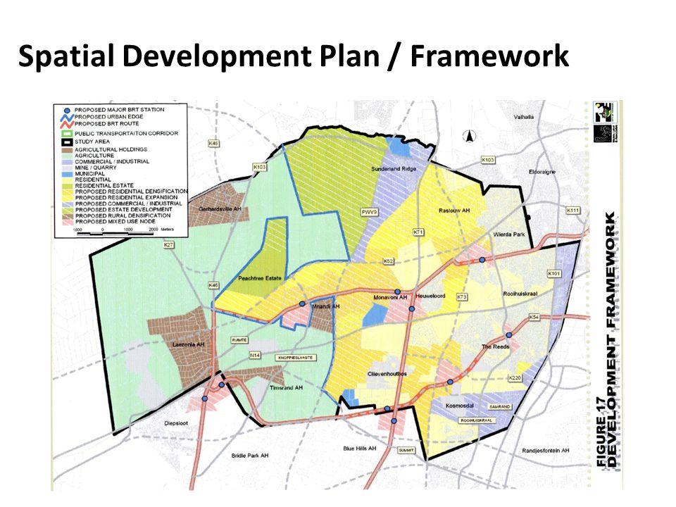 Spatial Development Plan / Framework